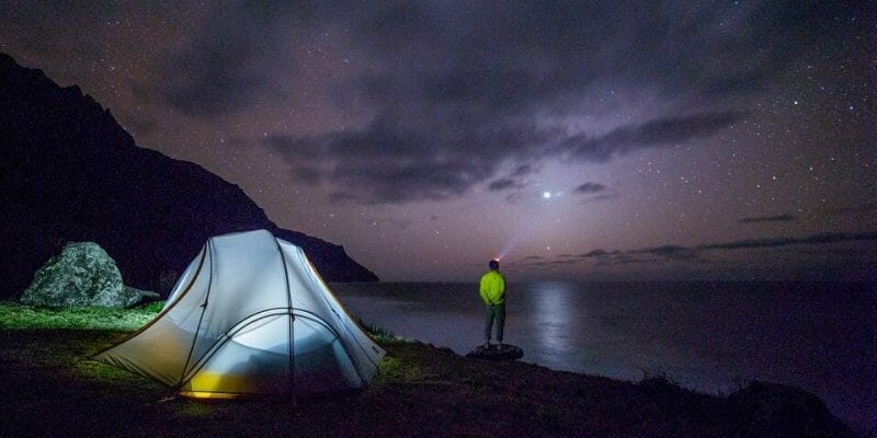 Best Way to Light your Tent at Night