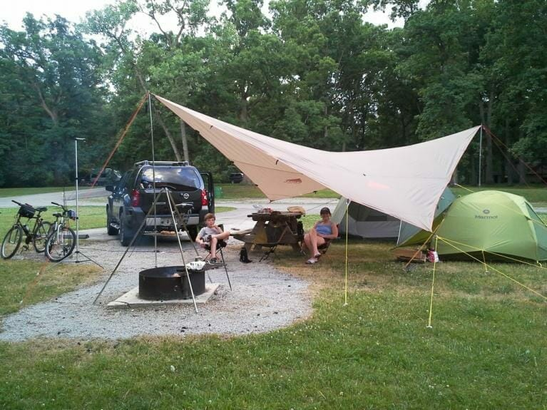 How to Set Up a Trap for a Camping