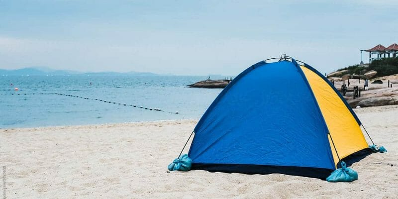 Can You Use a Camping Tent at the Beach?