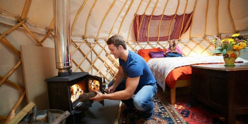 How to Use a Wood Burning Stove in your Tent