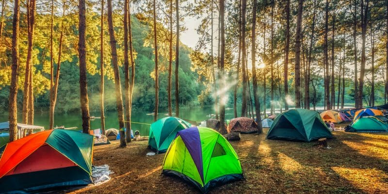 Does the Color of Your Tent Matter