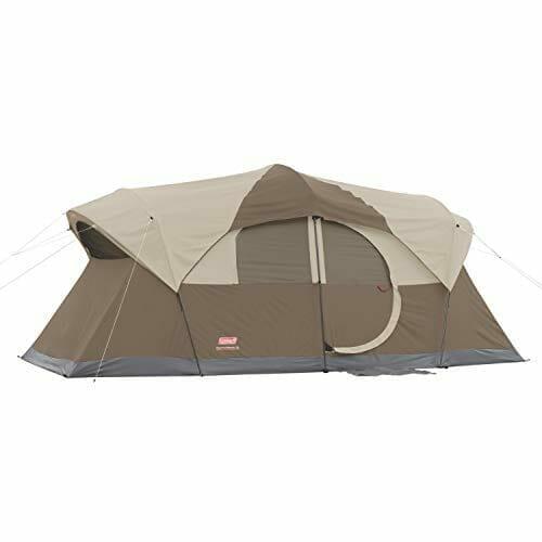 Coleman WeatherMaster - Best 10-Person Outdoor Tent