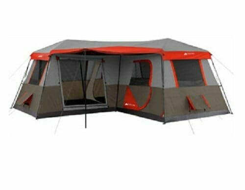 Ozark Trail -  12 Person 3 Room Instant Cabin Tent