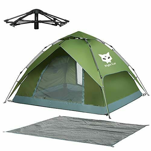 Night Cat - Best 2 Person Waterproof Camping Tent